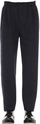 Giorgio Armani Virgin Wool Jogging Pants