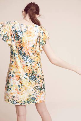 Donna Morgan Printed Petals Tunic Dress $178 thestylecure.com