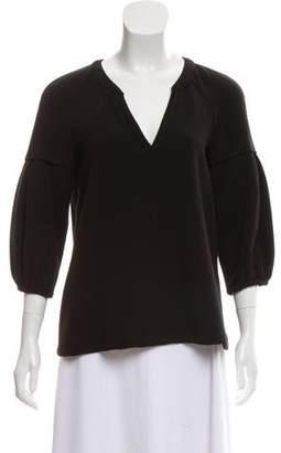 BA&SH Knit Long Sleeve Top