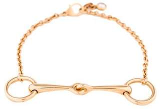 Hermes 18K Diamond Filet d'Or TPM Bracelet