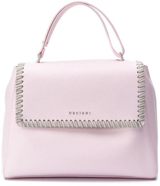 Orciani chain detail tote