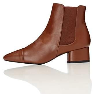 c8790538c9d9 FIND Women s Boots Chelsea Leather Block Heel (38 ...