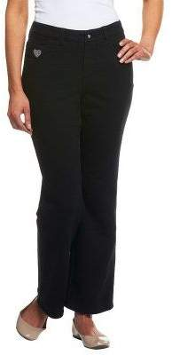 "Factory Quacker DreamJeannes"" Regular 5Pocket Knit Denim Boot Cut Pants"