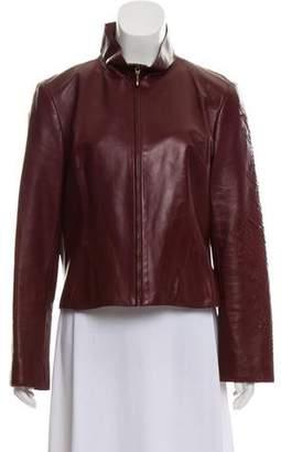 Christian Lacroix Leather Biker Jacket