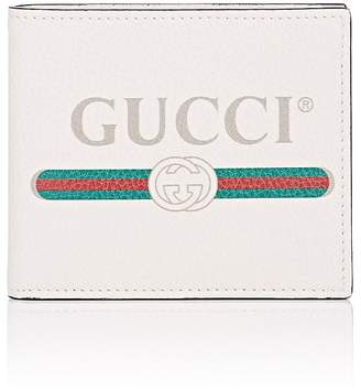 Gucci Men's Logo Leather Billfold