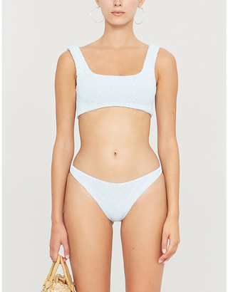 Hunza G Angela seersucker bikini