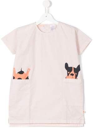 Tiny Cottons dog print T-shirt
