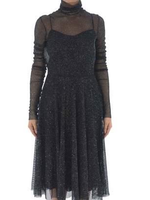 Philosophy di Lorenzo Serafini Layered Sheer Top Dress