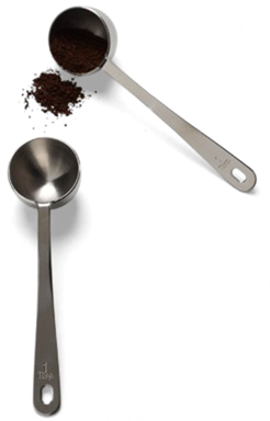Container Store Stainless Steel Coffee Scoop