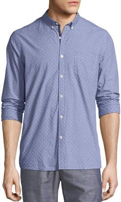 Civil Society Yarn-Dyed Dobby Button Down Shirt