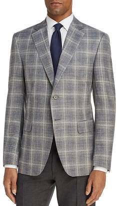 Canali Plaid Slim Fit Sport Coat