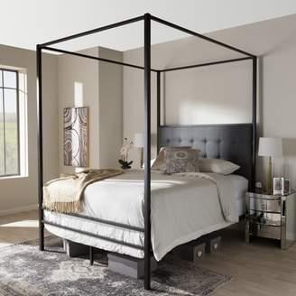 Wrought Studio Haffey Queen Canopy Bed
