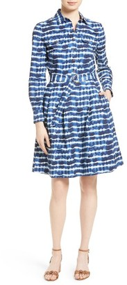Women's Tory Burch Derrick Belted Shirtdress $350 thestylecure.com