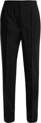 Dolce & Gabbana High-waist straight-leg wool-blend trousers