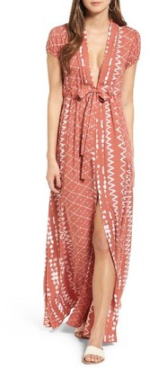 Women's Tularosa Joel Geo Print Maxi Dress $187 thestylecure.com