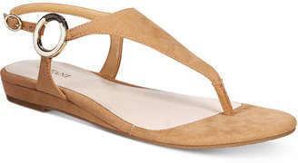 Alfani Women's Honnee Flat Sandals, Only at Macy's Women's Shoes $49.50 thestylecure.com