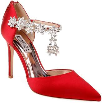 Badgley Mischka Venom Crystal Embellished Pump