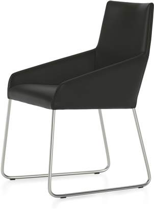 Design on Stock USA Penta Sled Leather Chair