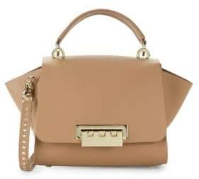 Zac Posen Eartha Leather Satchel Crossbody Bag