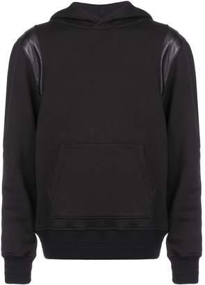 Amiri shoulder detail hoodie