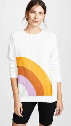 Freecity Rainbow Raglan Sweatshirt