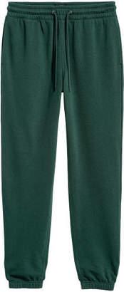 H&M Sweatpants Regular fit - Green