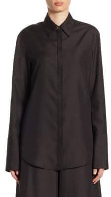The Row Joshua Long-Sleeve Shirt