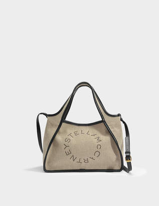 Linen Canvas Bum Bag in Desert Beige Eco Fabric Stella McCartney 5ZwsK