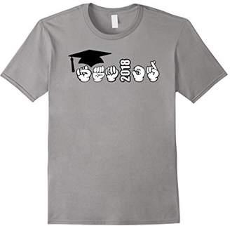 "American Sign Language 2018 ""Senior"" Graduation Shirt"