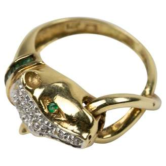 Non Signé / Unsigned Yellow Gold Ring