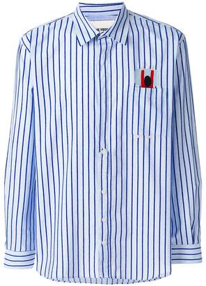 Henrik Vibskov Pillow striped shirt