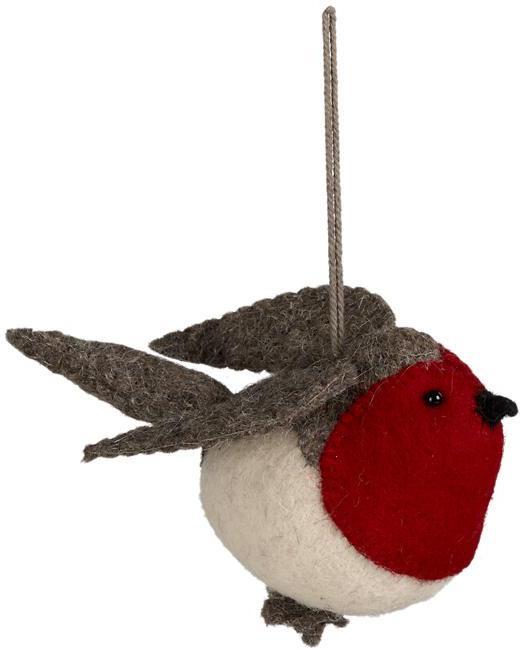 Wool Robin Ornament