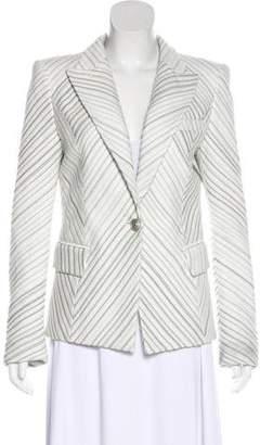 Pierre Balmain Diagonal Stripe Blazer