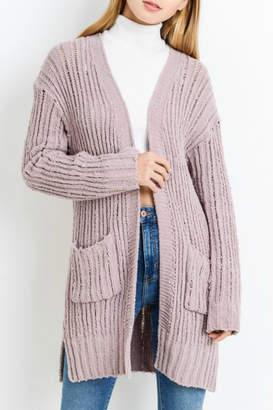 Paper Crane Papercrane Chenille Sweater Cardigan
