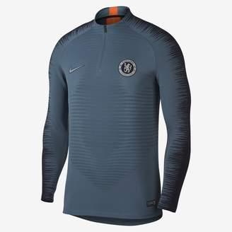 Nike Chelsea FC VaporKnit Strike Drill Men's Long Sleeve Soccer Top