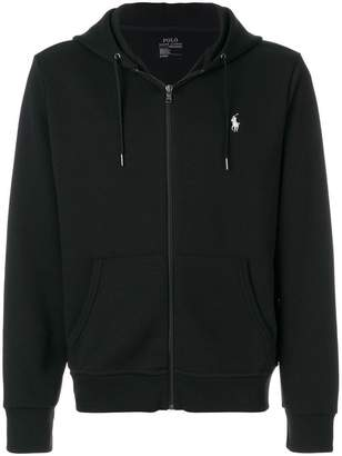 Polo Ralph Lauren zipped logo hoodie