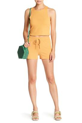 EMORY PARK Ribbed Knit Soft Shorts