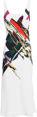 Cushnie et Ochs Devona Abstract Print Dress