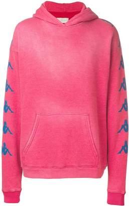 Paura branded sleeve hoodie
