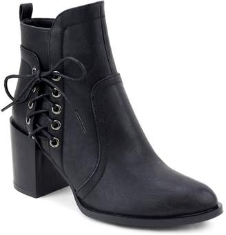 Olivia Miller East Village Women's Lace-Up Ankle Boots