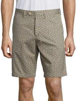 Saks Fifth Avenue COLLECTION Anchor Printed Shorts