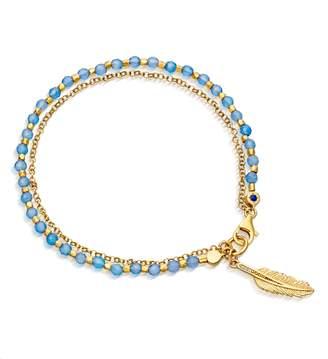 Astley Clarke Feather Biography Bracelet