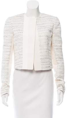 Narciso Rodriguez Collarless Jacquard Jacket w/ Tags