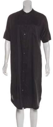 Steven Alan Short Sleeve Midi Dress w/ Tags