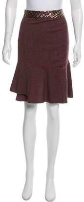 Blumarine Wool Knee-Length Skirt w/ Tags