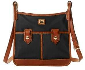Dooney & Bourke Double Pocket Nylon Crossbody Bag