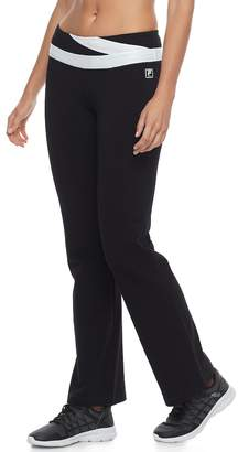 Fila Sport Women's SPORT Performance Contrast Waist Pants