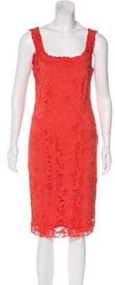 Josie Natori Lace Knee-Length Dress