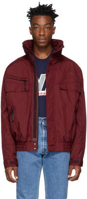 Martine Rose NAPA by Burgundy A-Allos Jacket