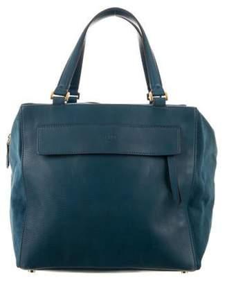 Fendi Leather Shoulder Bag Teal Leather Shoulder Bag